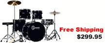 Drum Set For Sale Free Shipping Cheap